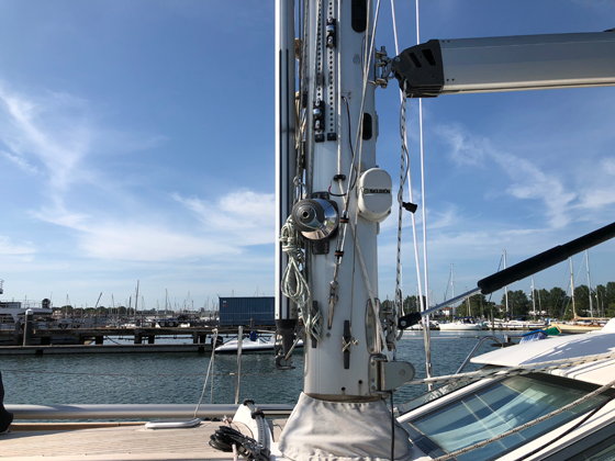 The Rig Shop: News | Complete Mast, Rigging & Installation